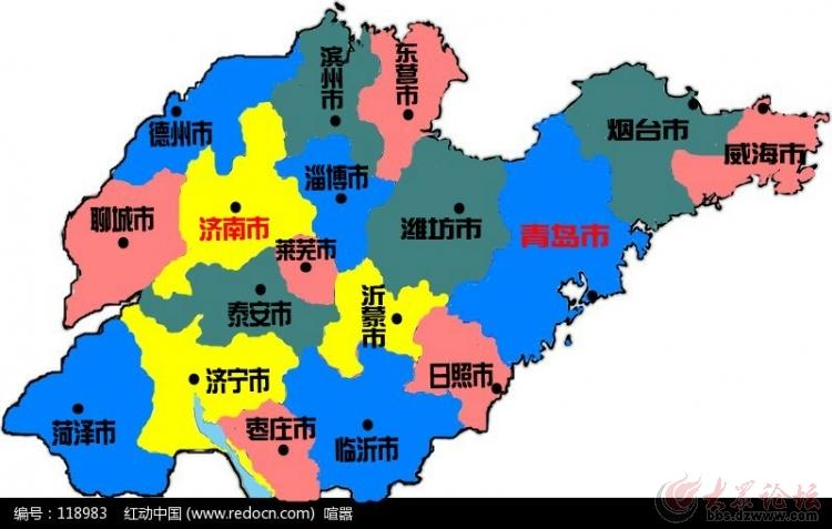 山东省行政区划调整方案