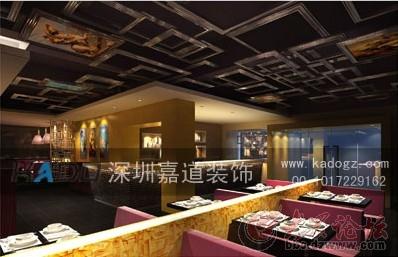 茶餐厅设计—吉林长春港式茶餐厅装修设计案例