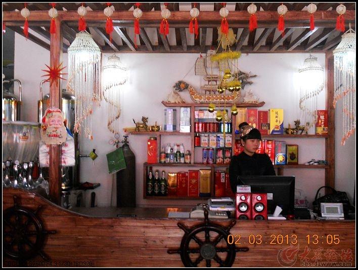 青岛啤酒海鲜扎啤城的酒文化