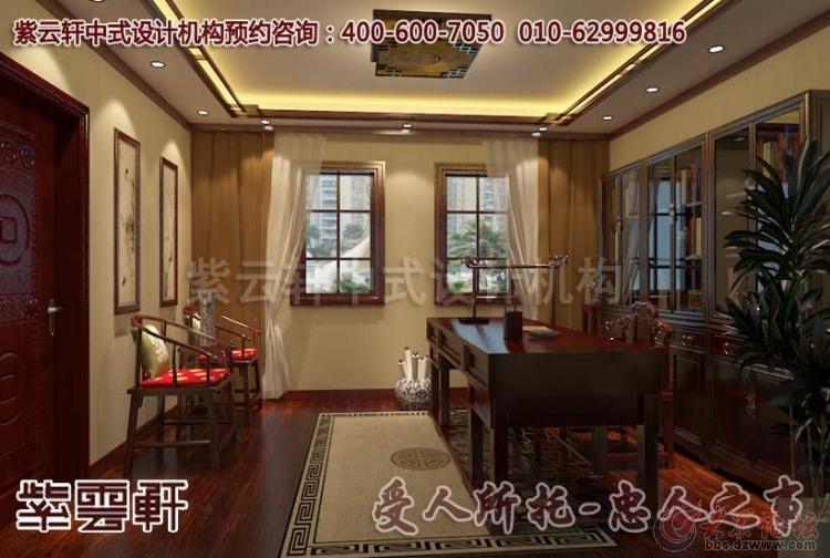 上海某客户现代中式风格别墅装修案例赏析