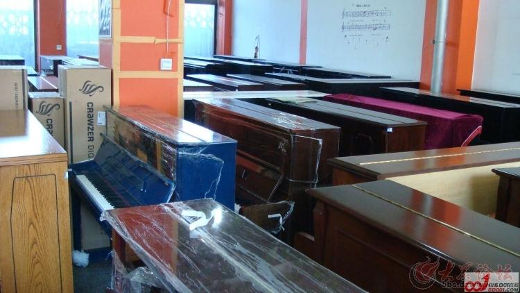 济南二手钢琴 天韵钢琴城 雅马哈 卡哇伊 英昌 三益钢琴专卖 质保十