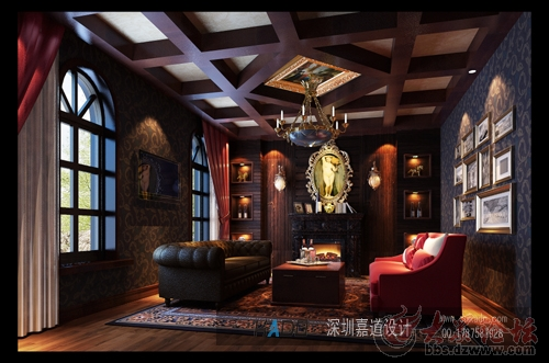 嘉道装饰红酒店设计案例