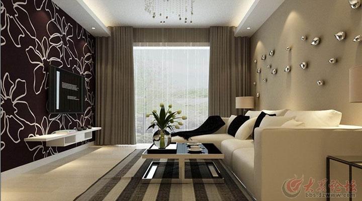 饰 中建凤栖第85平米简约风格两居室装修效果图