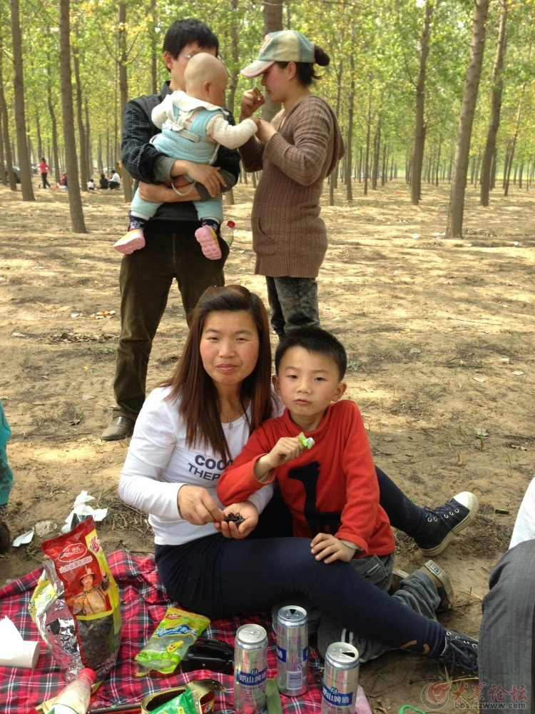 【曹州赏春】野炊进行中——东明焦元黄河森林公园