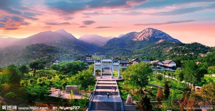 1小长假骑行新泰莲花山风景区