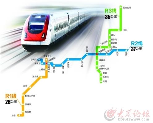 济南火车站附近局部下穿外