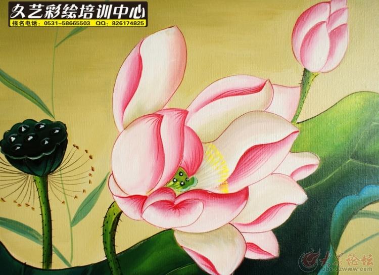 墙体彩绘培训 手绘学校 济南墙绘学校