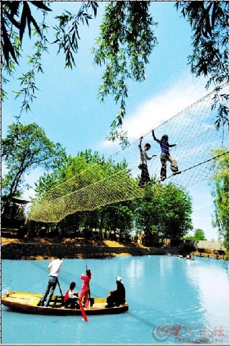 竹洞天风景区六一儿童节感恩回馈 可免费体验游戏