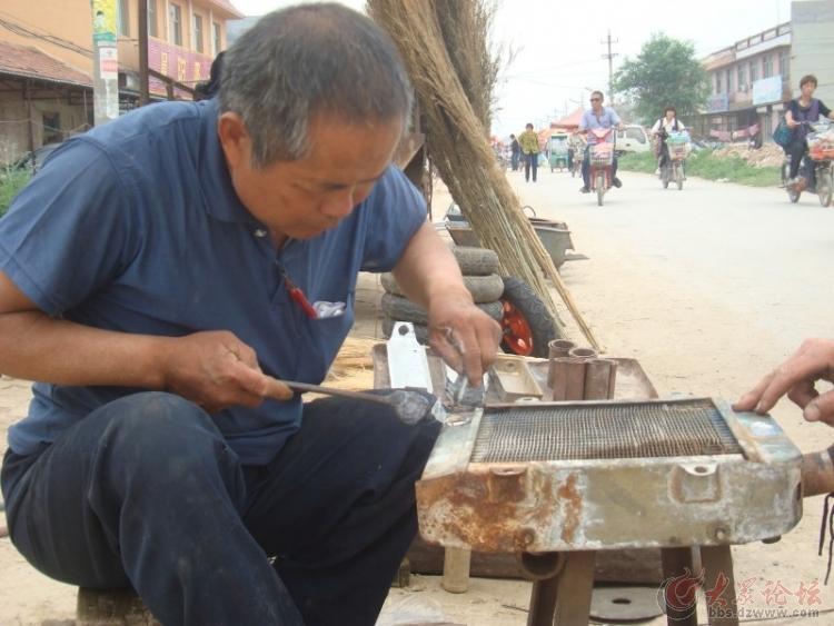 """记录""""锡焊王老李""""焊接水箱全过程"""