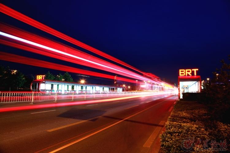 枣庄BRT公交采风活动图片