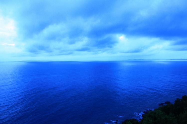 天蓝色欧式壁纸