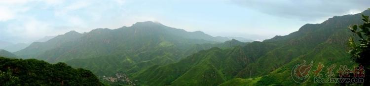 白草畔自然风景区素有太行山中的绿色明珠之美誉.