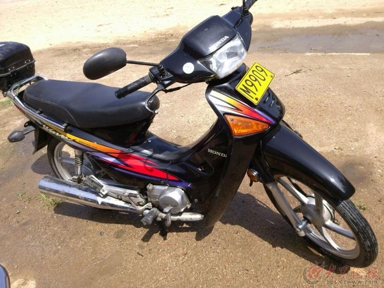 卖两辆摩托车,新大洲本田 大阳弯梁