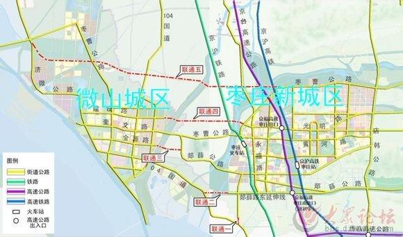 徐州到青岛高速路线图