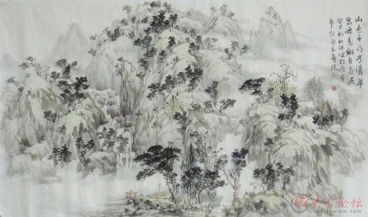 中国美术家协会会员 张健国画艺术