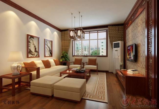 实创装饰-舜奥华府-150平米三室现代简约风格装修