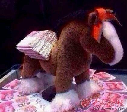 动物有钱图片大全