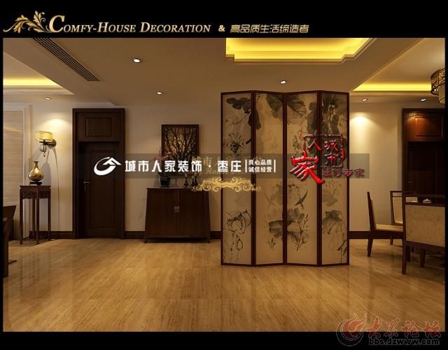 最炫中国风,打造三居室新中式风格装修设计方案 高清图片