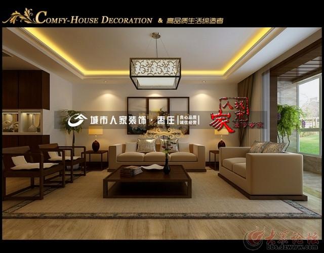 最炫中国风,打造三居室新中式风格装修设计方案