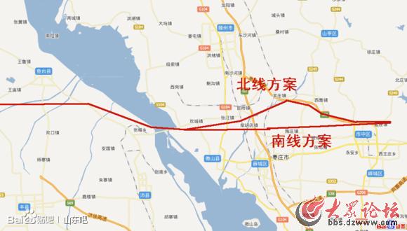 枣庄到滕州地图高清版