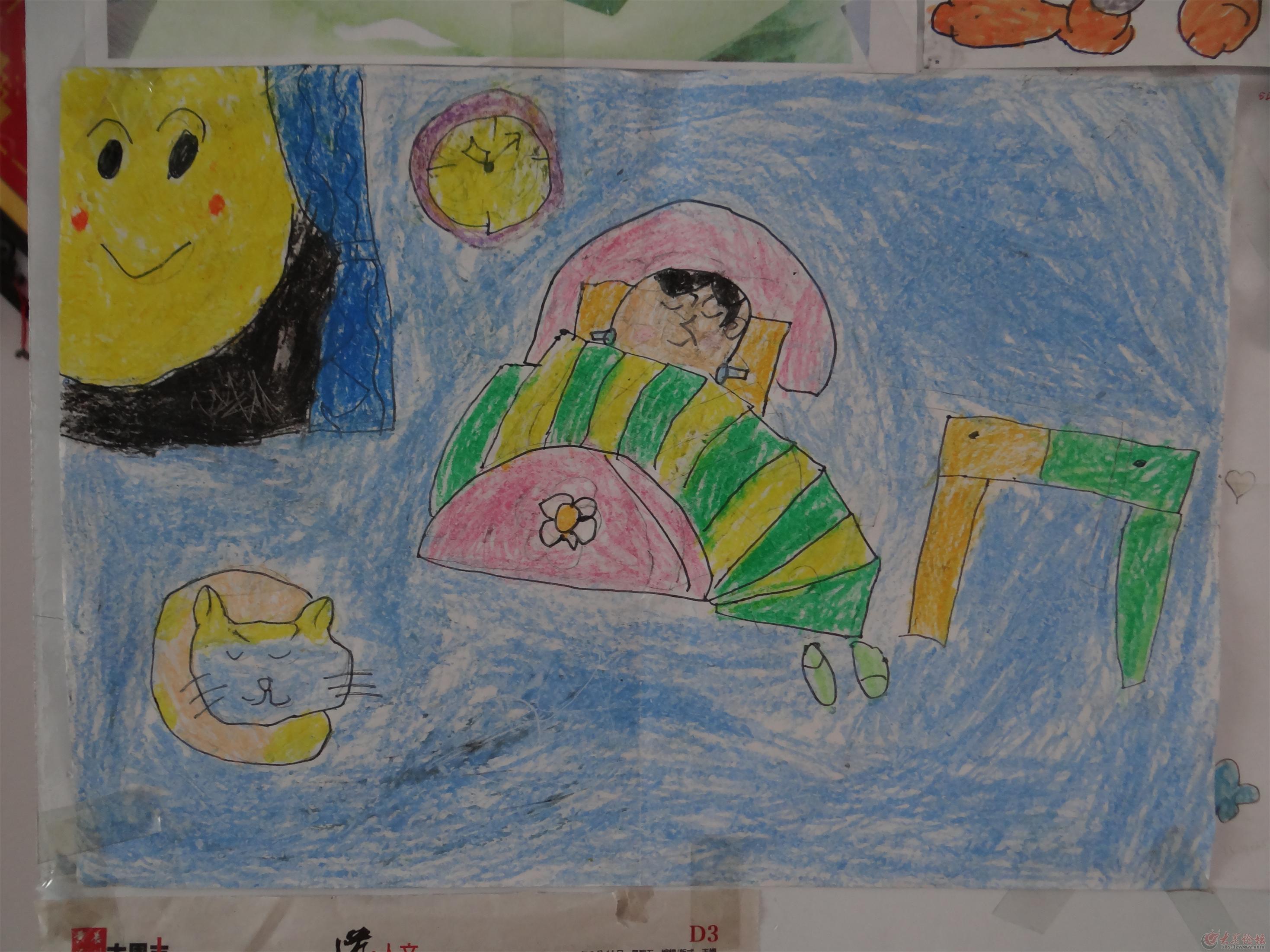 比赛作品 色彩画命题  教师创意美术作品_画画大全 幼儿教师优秀绘画