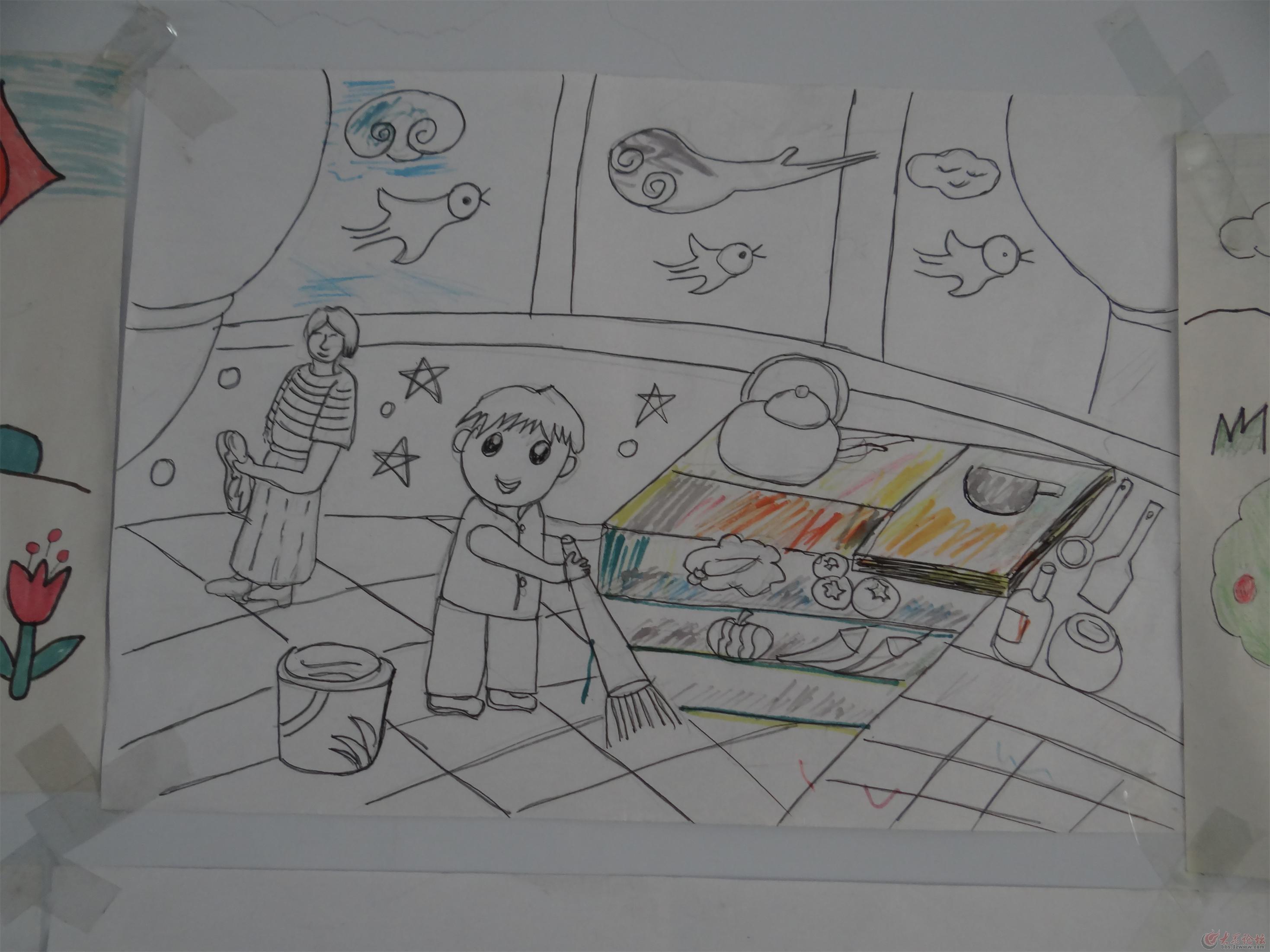 简笔画 手绘 线稿 229