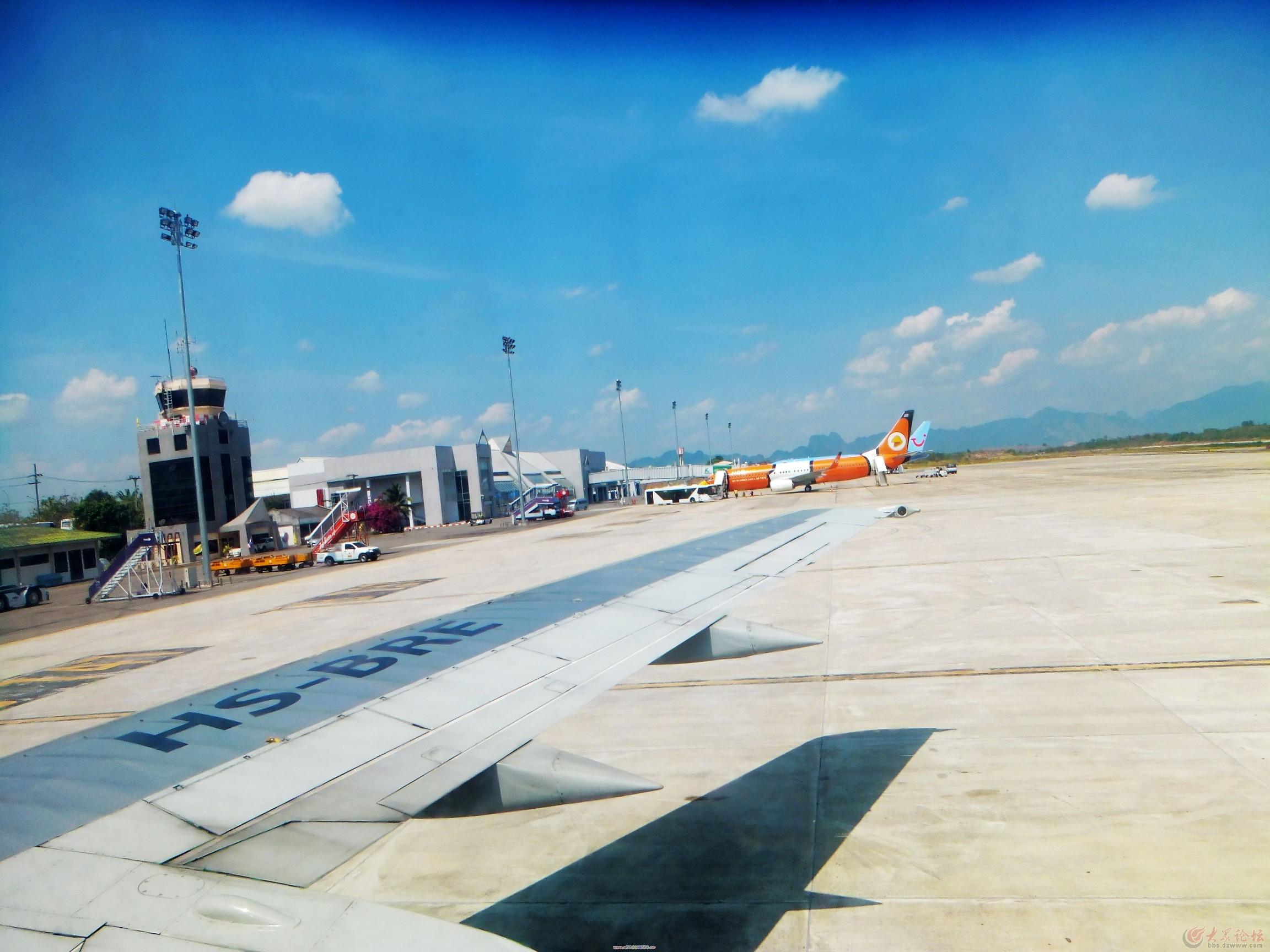 抵达泰国甲米机场