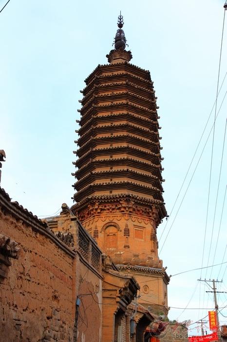 蔚县-南安寺塔