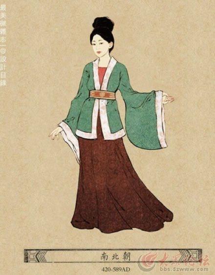 古代女子服装图片