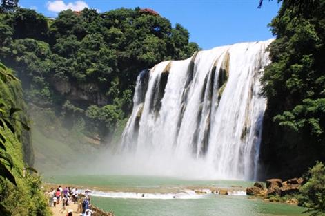 壁纸 风景 旅游 瀑布 山水 桌面 471_314