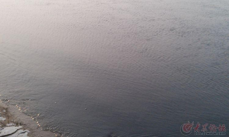 滨州市北海新区一江污水向东流!