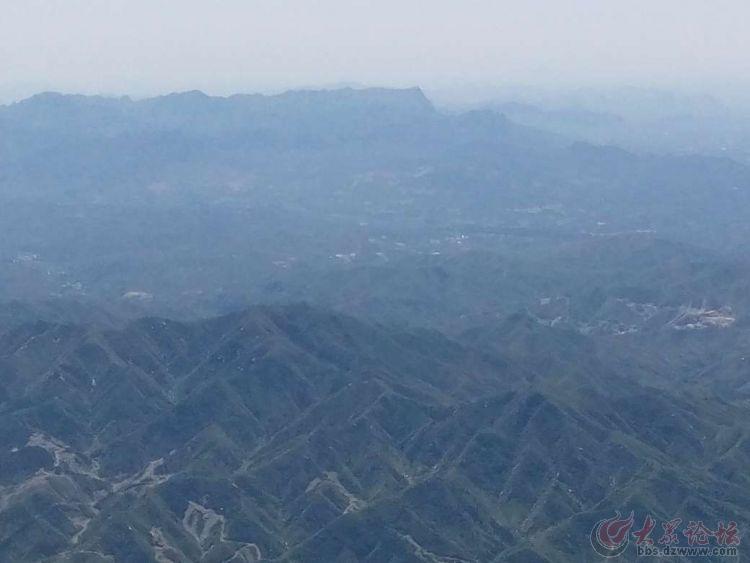 站上山顶看风景,美啊!