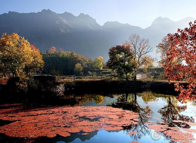 龙井河位于霍山与岳西交界处附近,距大别山主峰白马尖15公里,景区内有