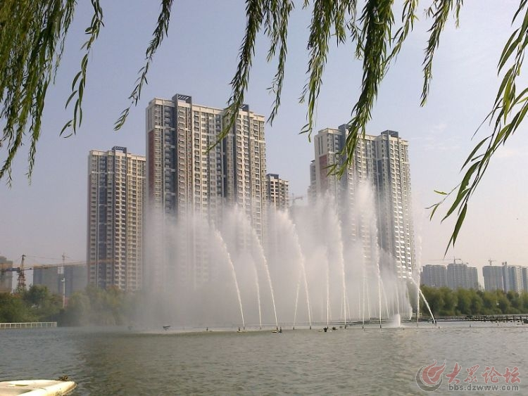 国庆节 音乐喷泉