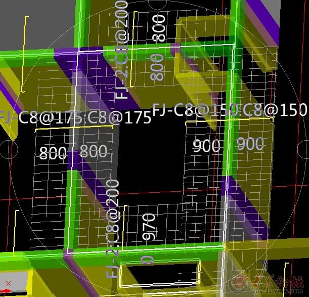 请教高层楼房楼板浇筑中钢筋用几根?