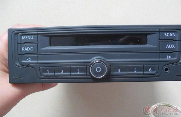 大众汽车(朗逸宝来捷达等)改家用cd收音机音响支持usb