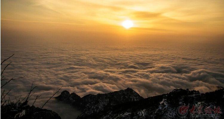 跨年2015征途户外驴道31号夜爬泰山看日出观云海,征集
