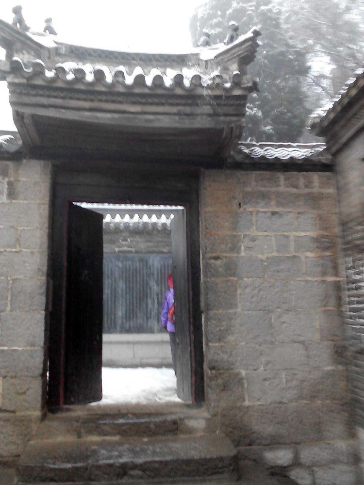 踏雪穿越:胡山自然生态风景区——朱家峪