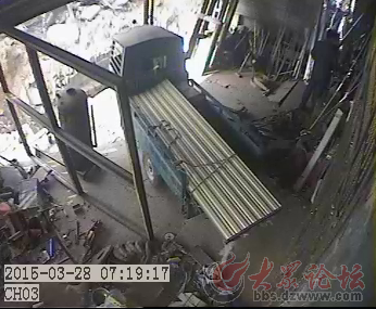 山亭电力铁塔事故图片