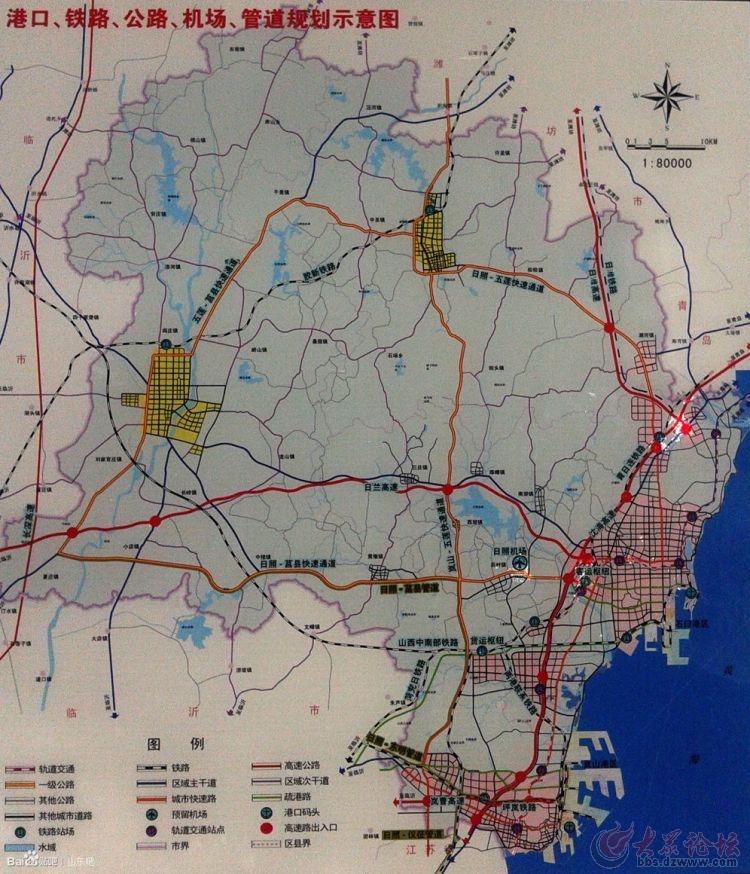 日照通高速铁路,日照至潍坊
