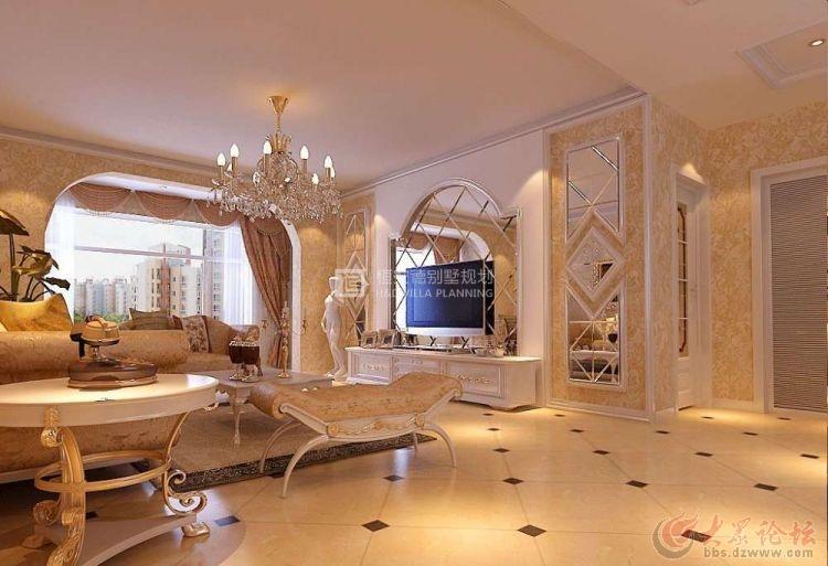 别墅欧式客厅装修注意事项