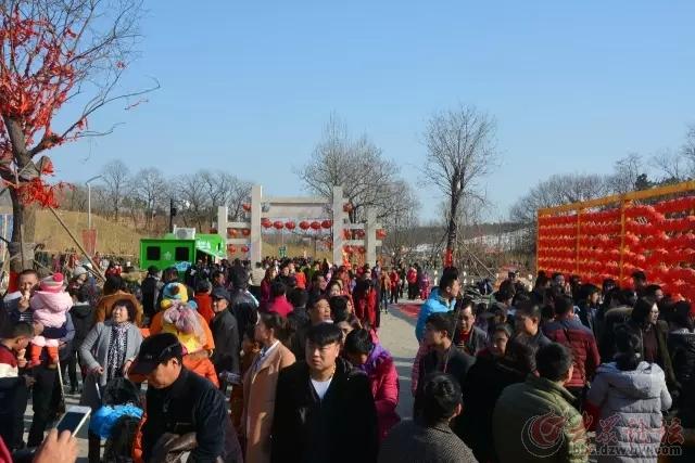 走进藏马山庙会 到处都是人 - 青岛论坛 - 大众论坛