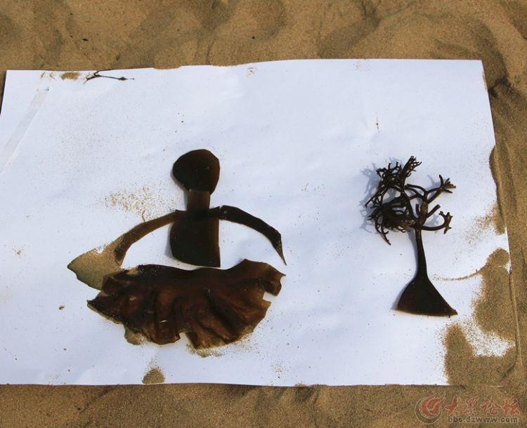 海带创意大赛掠影 海带剪贴画