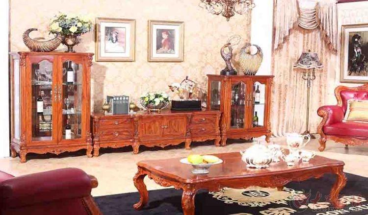 周家公馆:欧式红木家具营造温馨和谐家居