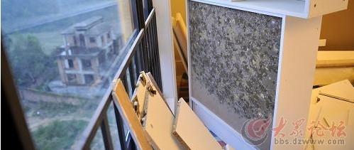 品牌橱柜受潮滋生霉菌整体橱柜实木橱柜.jpg
