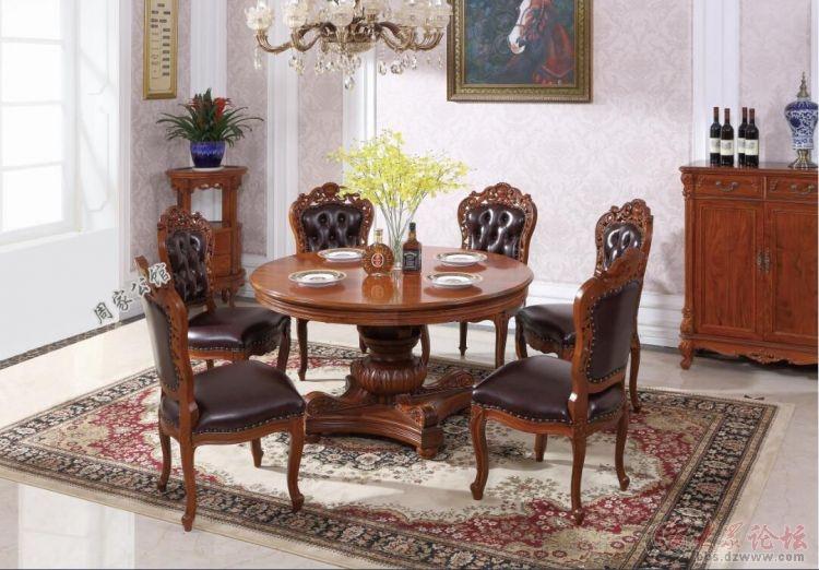 周家公馆:欧式红木家具增彩现代欧式家装