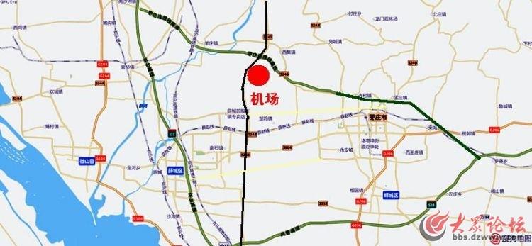 山亭高铁规划图