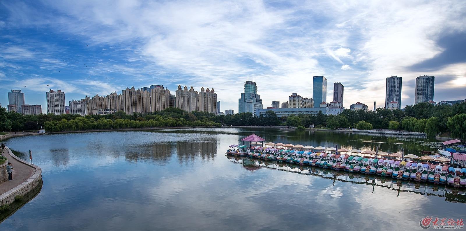已发表南山公园的人工湖车志强.jpg