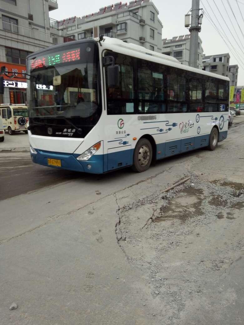 菏泽48路公交车路线图