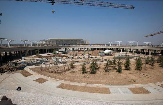 即将竣工的滨州火车站!